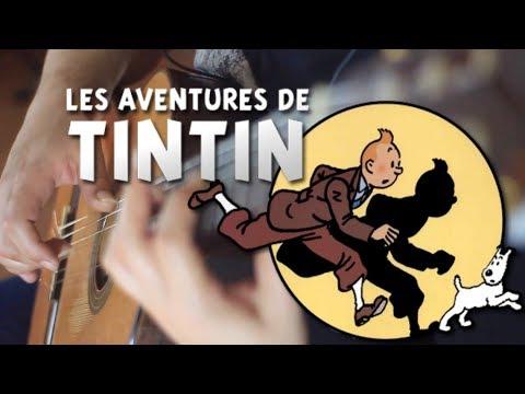 As Aventuras de Tintin por Fabio Lima