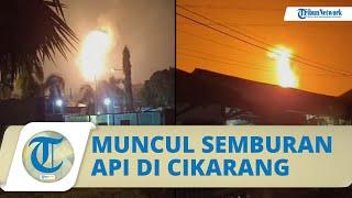 Viral Video Semburan Api dan Hawa Panas di Cikarang, Polisi Ungkap Faktanya