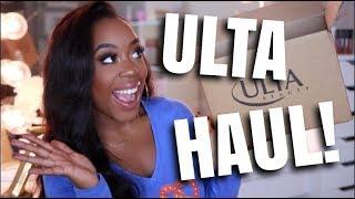 HUGE ULTA + DRUGSTORE HAUL | SPRING 2018 | Andrea Renee