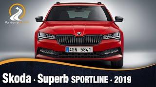 Skoda Superb Sportline 2019 | Primeras Imágenes e Información