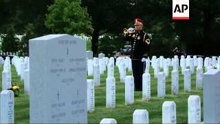 The highest-ranking U.S. military officer to be killed in combat since Vietnam has been buried with