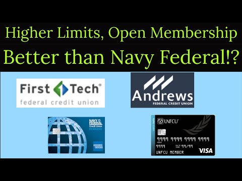 Navy Federal dethroned! Better alternatives with higher limits, more products, and open membership!