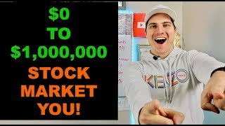 $0-$1,000,000 How Long To Become Stock Market Millionaire