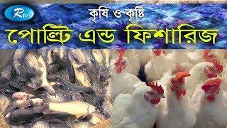 Krishi O Krishti | পোল্ট্রি এন্ড ফিশারিজ | Poultry and Fisheries | Ep-116 | Rtv Lifestyle | Rtv