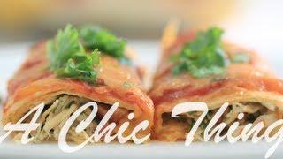 Chicken Enchiladas, لفائف الدجاج
