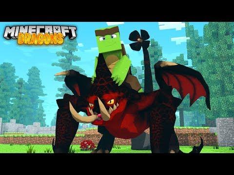 CAN WE TRAIN A DEATHGRIPPER DRAGON? - Minecraft Dragons
