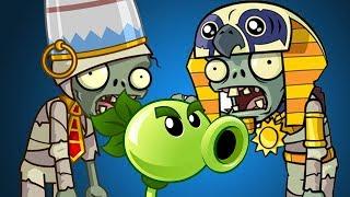 ЗОМБИ обещали СЪЕСТЬ мою семью - ПРОХОЖДЕНИЕ ИГРЫ Plants Vs Zombies 2