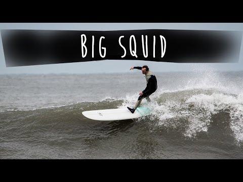 SBS Big Squid Surfboard, Longboard Review (Steven Skip Davis)