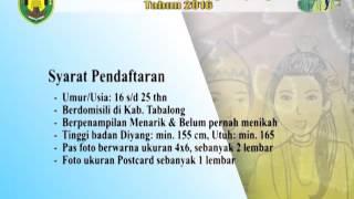 Pemilihan Utuh Diyang Tanjung Tahun 2016. #TVTabalong