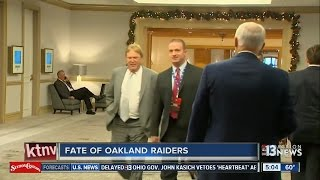 Possible Oakland Raiders move discussed at Texas meeting