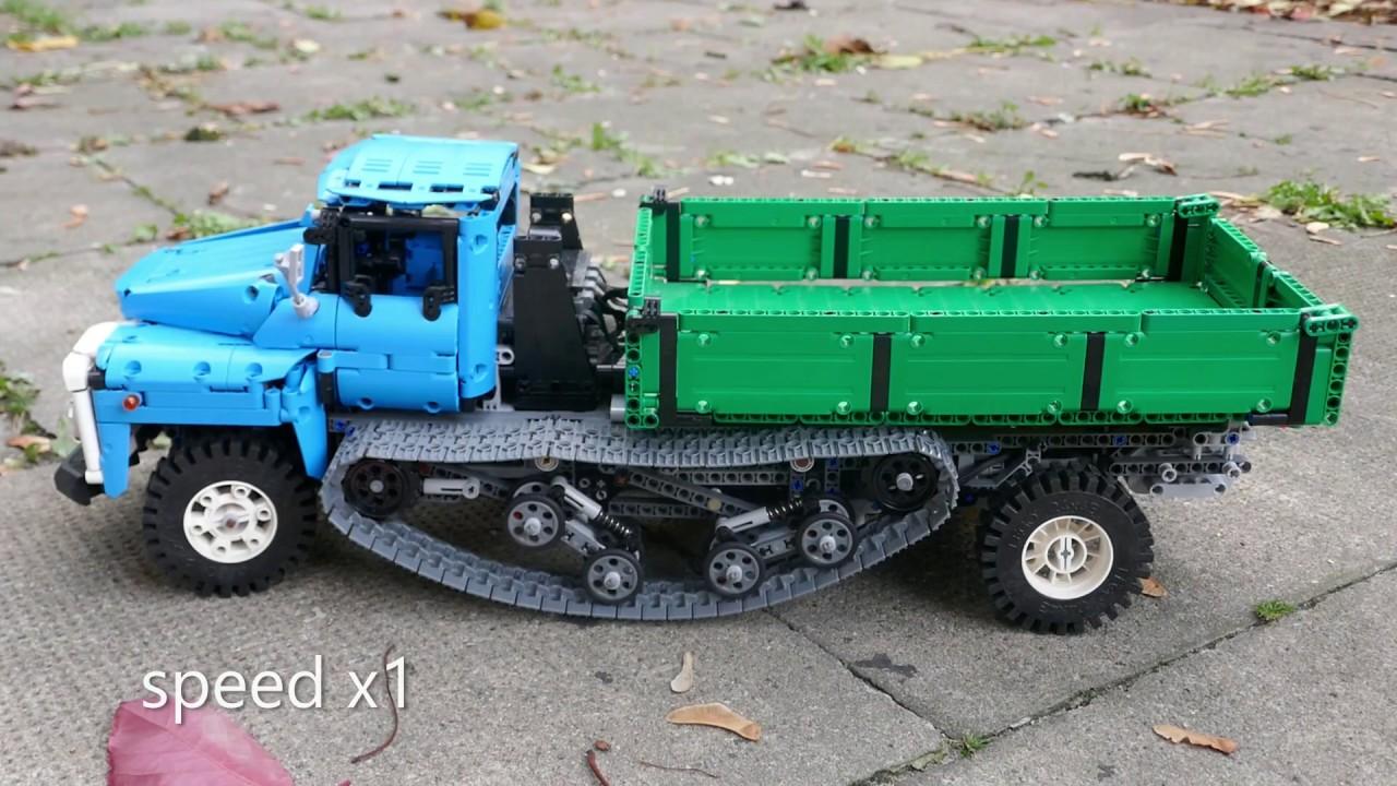 Lego Technic Soviet Tracked Vehicle BWSM 80