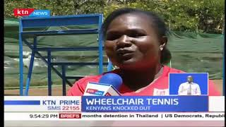 Kenyans knocked out of Uniqlo wheelchair tennis championship in Nairobi