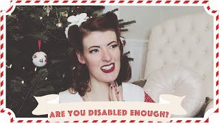 Are You Disabled Enough? Physical Disabilities and Mental Health // Vlogmas Day 8  [CC]