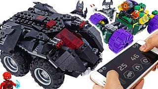 Lego DC Batman App-controlled Batmobile Remote Control appeared! | DuDuPopTOY