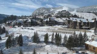 Yellowstone Club Village Hillside Construction Timelapse
