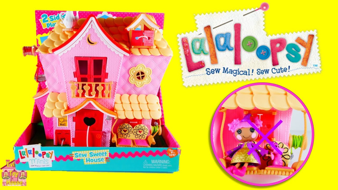 Lalaloopsy Minis Sew Sweet House Playset Review | Evies Toy House