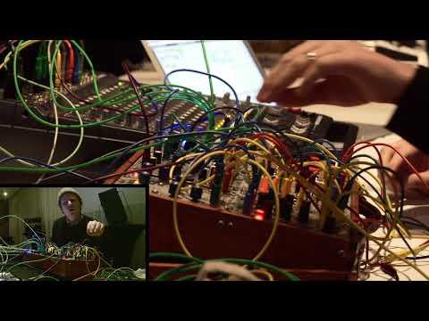 John Chantler live at Fluister online metal music video by JOHN CHANTLER