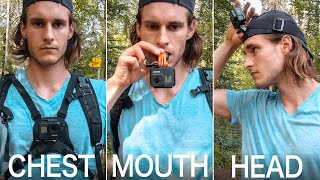 GoPro POV Videos: 4 Different Mounts Explained