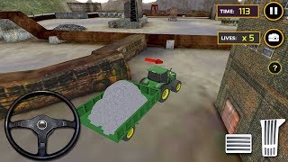 Tractor Concrete Excavator (by iPlay Studio) Android Gameplay [HD]
