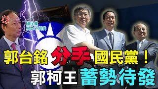 震撼!中秋節起義 蔡沁瑜:郭董退出國民黨