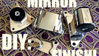 DIY: How to 5$ polish and get a mirror finish - TL Productions. - Video Youtube