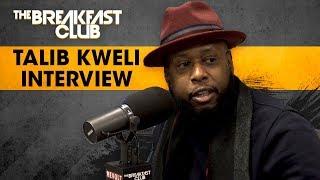 The Breakfast Club - Talib Kweli On The Importance Of Radio, New Music, Meek Mill + More