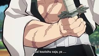 Sanemi Shinazugawa  - (Demon Slayer: Kimetsu no Yaiba) - Kimetsu no Yaiba Eps 22 Sub Indo: Tanjiro Vs Sanemi