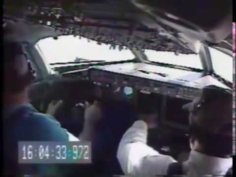Boeing 717 test pilot intentionally puts airliner into an unusually hard stall, recovers by flying directly at the ground to pick up airspeed