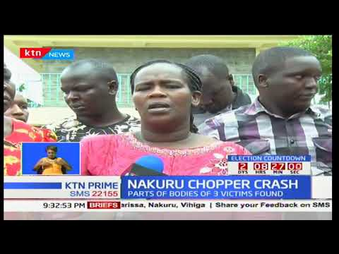 Navy divers retrieve another body raising body count to three in the Lake Nakuru chopper crash