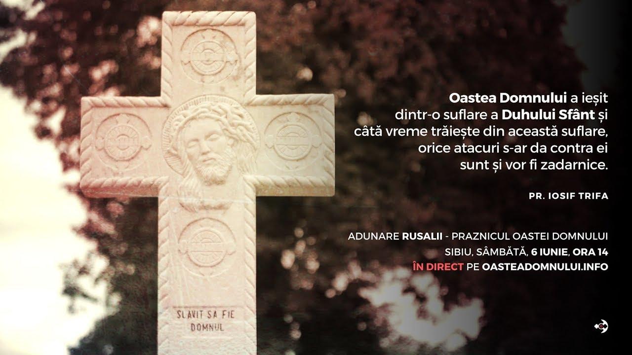Adunare Rusalii, Sibiu, 6 iunie 2020
