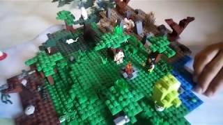 Forest #1 Кооператив с Верой. Строим первую базу.