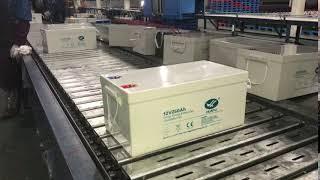 HUAFU 12V250Ah Battery In Packing Line