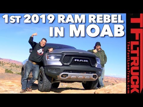 How Good Is The All New Ram Rebel Off-Road? Moab Slickrock Review
