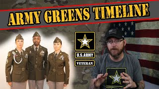 Updates on the Army Green Service Uniform