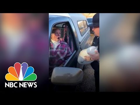 Police Give Turkeys, Not Tickets | NBC News