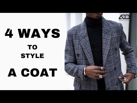 HOW TO STYLE A COAT  |  MÄNNER MÄNTEL 2019/20 | STYLING TIPPS