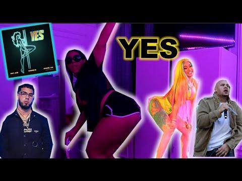 Fat Joe, Cardi B & Anuel  AA -YES (Audio)  **REACTION**