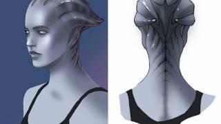 Mass Effect - Creating the Asari - Game Informer