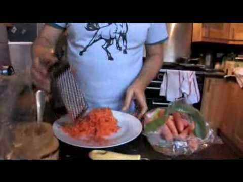 Video Making carrot cake with Dan Lepard