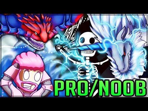 AN OCEAN OF THUNDER - Pro and Noob VS Monster Hunter World Iceborne! #mhw #iceborne #proandnoob