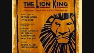 The Lioness Hunt - The Lion King Broadway(lyrics)