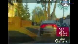 preview picture of video 'Braniewo: Policyjny pościg za kierowcą Seata. Zobacz wideo z pościgu [wideo]'