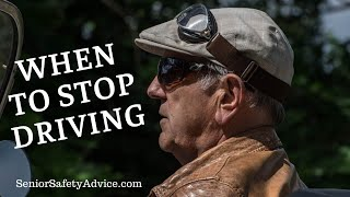 When Should Seniors Stop Driving? How To Get Elderly Parents To Give Up The Car Keys