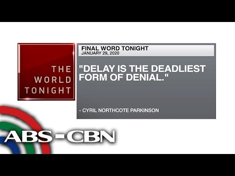 [ABS-CBN]  Final Word – January 29, 2020 | ANC