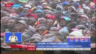 President Uhuru Kenyatta stands his ground