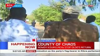 County of chaos: Rowdy Kisumu MCAs stop Onyango Oloo's return