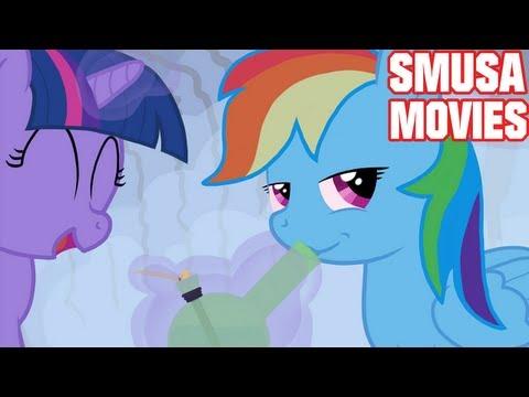 MLP FIM CZ PARODY 7-My Little Pony CZ Parody S01 E02 část 3/4