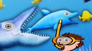 Tasty Blue #18 СЪЕСТЬ ОКЕАН! Мультик игра для детей про РЫБКУ ОБЖОРУ похожая на СЪЕДОБНУЮ ПЛАНЕТУ