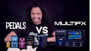 Guitar Pedals VS. MultiFX For Beginners | Pros And Cons |