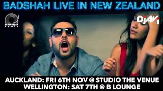 BADSHAH MASHUP (NZ TOUR 2015) - DJ AVI & DJ ELVIN NAIR